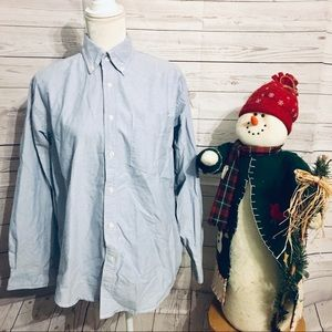 Gap Factory Store Jean Style Button Up Shirt S